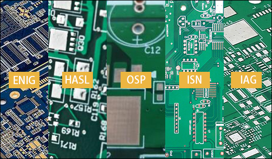 基板表面処理の種類,PCBGOGO
