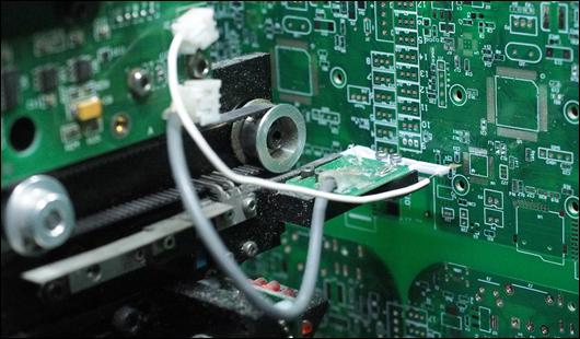 プリント基板の電気テスト